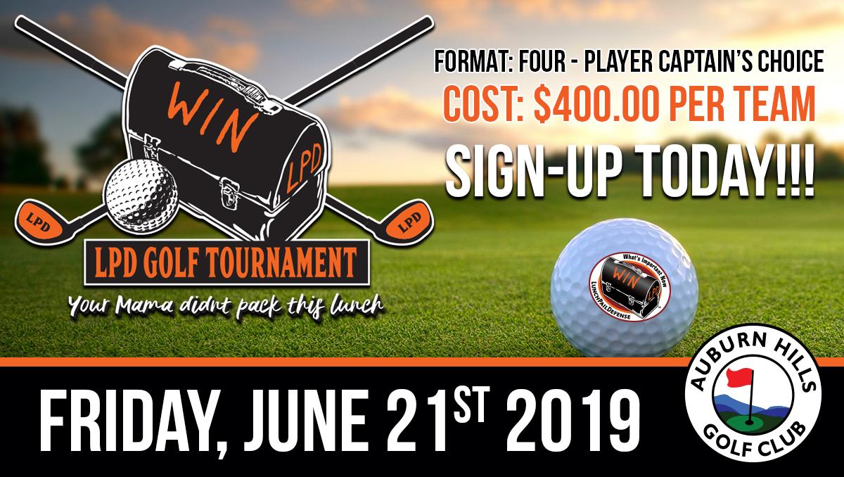 2019 LPDF Golf Tournament Info